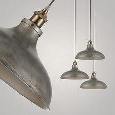 1 Lights/Pendant Lamps/Antique/Vintage Style/Industry Style/Iron MetalsDrop Light – AUD $ 128.69