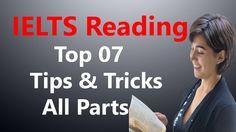 Top 07 Tips & Tricks | IELTS Reading: All Parts | MRK IELTS