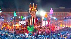 La première sortie du roi à Nice !