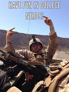 Meanwhile in the Marine Corps Haha nerds! Usmc Humor, Marine Corps Humor, Us Marine Corps, Marine Jokes, Marine Corps Quotes, Once A Marine, My Marine, Marine Recon, Military Jokes