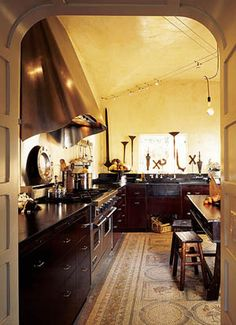 A Spanish Eclectic Kitchen - Old-House Online