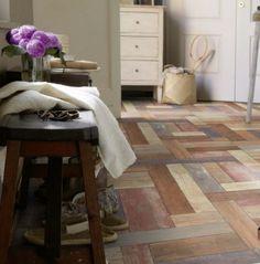 PVC Boden Tarkett Exclusive 260 Trend Pine Multicolour 4m Bild 1