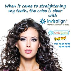 "It""s time to choose Invisalign Get your radiant smile with Invisalign. Removable, comfortable Invisible aligners at SmileWorks Dental Care  Call us at +6221 4584-4591 / 92 ~ Dr. Marzella Mega Lestari, drg, MDS, SpBM and TEAM"