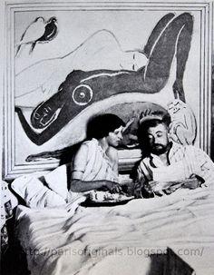 Monsieur et Madame Paul Poiret. Hollywood Monsters, Book Creator, Painting Studio, Dutch Painters, Creative Icon, Brigitte Bardot, Famous Artists, Painting Techniques, Artist At Work