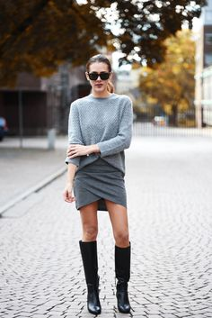 Greys. This would look great with my new over the knee boots.