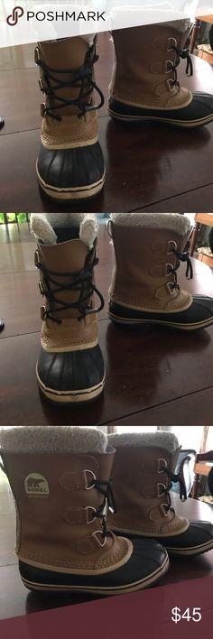 Kids Sorel Winer Boots Used one season , good condition. Sorel Shoes Rain & Snow Boots