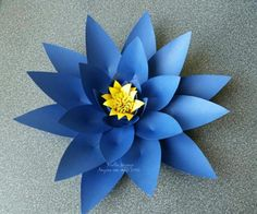 Ton of free flower templates  With A Little Inspiration