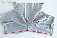 Sew inseams - How to draft mens shorts pattern - http://mellysews.com