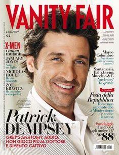 Patrick Dempsey Magazine Cover