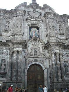 Iglesia La Compañía, Quito, Ecuador