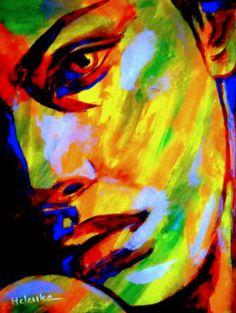 "Saatchi Art Artist Helena Wierzbicki; Painting, """"Incomplete"""" #art"