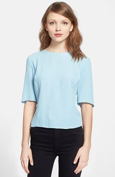 Elbow sleeve top