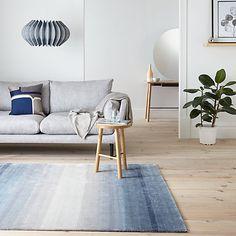 Buy John Lewis Garda Rug, Blue Online at johnlewis.com