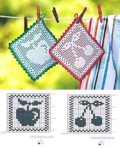 Crochet Potholder Patterns, Crochet Bedspread Pattern, Vintage Crochet Patterns, Crotchet Patterns, Crochet Dishcloths, Crochet Designs, Crochet Doilies, Crochet Hot Pads, Cute Crochet