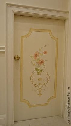 Gold Painted Walls, Painted Furniture, Luxury Homes, Stencils, Mirror, Interior, Painting, Design, Home Decor