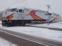 New Mexico RailRunner Express commuter train