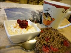 Low Carb Raspberry Carob MIM with Cottage Cheese