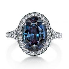 Alexandrite & Diamond Ring - Omi Prive