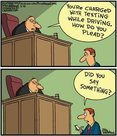 Mystery Fanfare: Cartoon of the Day: Texting