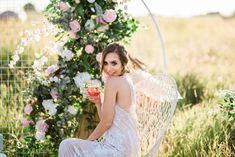 Bridal Inspiration Shoot featuring Bloom Screens - Decor & Rentals // Bridal Style // Wedding Rentals // Backdrops // Silk Florals // Bridal Gown // Outdoor Weddings // Blush Wedding // #albertaweddingsocial #weddinginspiration #styledshoot #weddingstyle #silkflorals #sunsetwedding #albertaweddings #boho Sunset Wedding, Wedding Day, Wedding Trends, Wedding Styles, Real Weddings, Outdoor Weddings, Wedding Rentals, Beautiful Gowns, Bridal Style