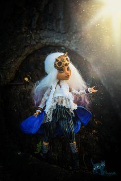 OOAK Monster High Repaint Doll Custom OOAK Howleen Wolf