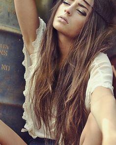 light brown beach hair