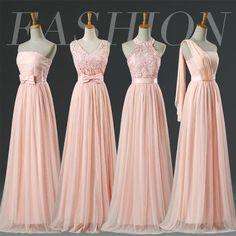 Resultado de imagen para bridesmaid dress pink