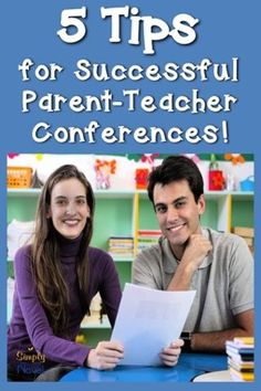5 Awesome Tips for Parent-Teacher Conferences