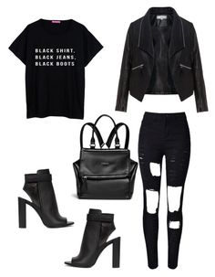 """""""Sin título #300"""" by dlalch on Polyvore featuring moda, WithChic, Vince, Zizzi y Givenchy"""
