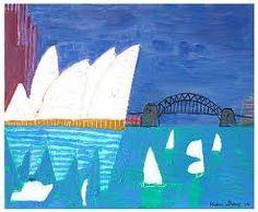pinkpagodastudio: Revisiting Australia's Ken Done Classroom Art Projects, School Art Projects, Art Classroom, Bad Cats, Kendo, High Art, Australian Artists, Blue Art, Art Activities