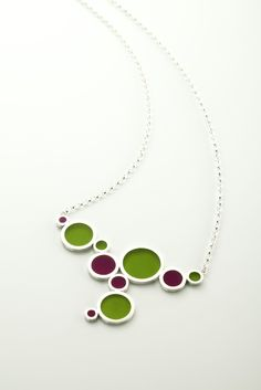 Sterling Silver & Resin necklace €218, Filip Vanas. I looove this so much!