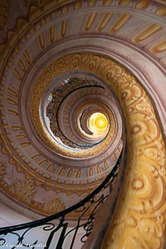Austria's Melk Abbey is home to what is arguably one of the world's most beautiful staircases. This Rococo-style spiral staircase...