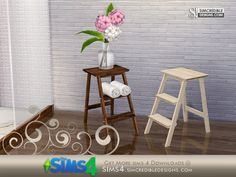 by SIMcredibledesigns.com  Found in TSR Category 'Sims 4 End Tables'