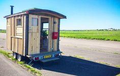 Un espace de travail mobile pour les travailleurs « aventuriers ». © Ikkle en Pind