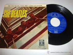THE BEATLES EP I WANT TO HOLD YOUR HAND DSOE 16.576 - 1 J 016-04.652 M 1964 DISCO EX++ PORTADA EX++