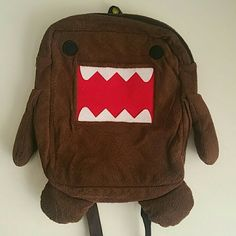 DOMO backpack DOMO plush  backpack, never used. Domo Bags Backpacks
