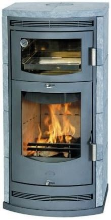 Contemporary Wood Burning Stove (soapstone) BACCARA NOVO Fireplace Design Ideas