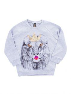 Little Lion Sweatshirt by Nil & Mon - ShopKitson.com