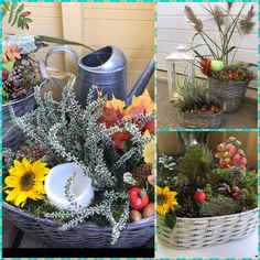 Table Decorations, Fall, Outdoor Decor, Plants, Furniture, Home Decor, Autumn, Decoration Home, Fall Season