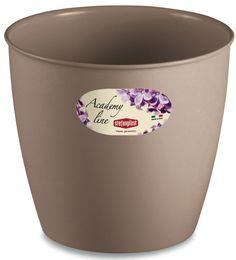 Pot ou Cache Pot Interieur et Exterieur 1.4 L ACADEMY ROND Caramel au meilleur prix ! - LeKingStore