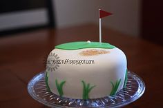 Golf cake.........I NEED THIS CAKE FOR MY SON FOR HIS BIRTHDAY.....