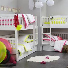 Lits superposés ou lits jumeaux Diablotin