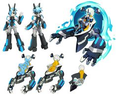 Merak Concepts from Azure Striker Gunvolt