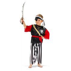 Piratenpak 4-delig Kindermaat.