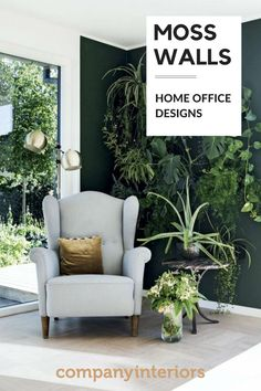 As we go back to school and get our home offices back to ourselves why not consider a beautiful maintenance free moss wall or foliage frame made out of preserved moss and plants. Requires no maintenance and brings nature into our homes and classrooms. Create your own WOW wall today or even a calm corner. #mosswalls #homeoffice #naturewalls #natureinteriors #wowwall #preservedplants #interiordesign #classroomdesign #nature #backtonature #calmcorner #cozyhome Living Room Green, Green Rooms, New Living Room, Living Room Decor, Living Spaces, New Interior Design, Home Office Design, Moss Wall, Back To Nature