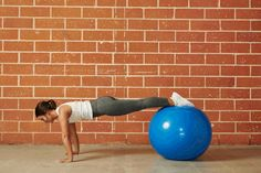 12. Knee Tuck STABILITY BALL