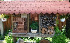 Hasznos rovarok búvóhelyei Gazebo, Outdoor Structures, Kiosk, Pavilion, Cabana