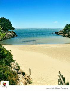Cala Calafatto.- Tarragona Caleta Calafatto.-Tarragona Calafatto Bay.- Tarragona