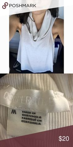 Urban Outfitters Cooperative Ribbed Cowl-Neck Tank Urban Outfitters Cooperative Ribbed Tank - worn once - excellent condition Cooperative Tops Tank Tops