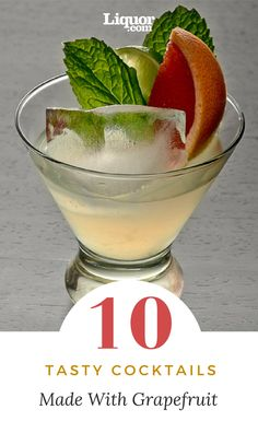 These 10 refreshing #grapefruit #cocktails are perfect for any occasion!